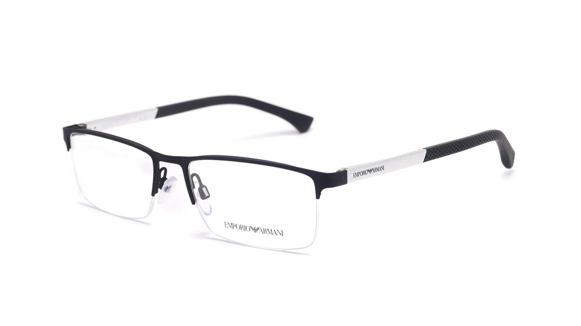 92e1fe7cc Eyeglasses Emporio Armani EA1041 3094 55-17 Black Matte Medium