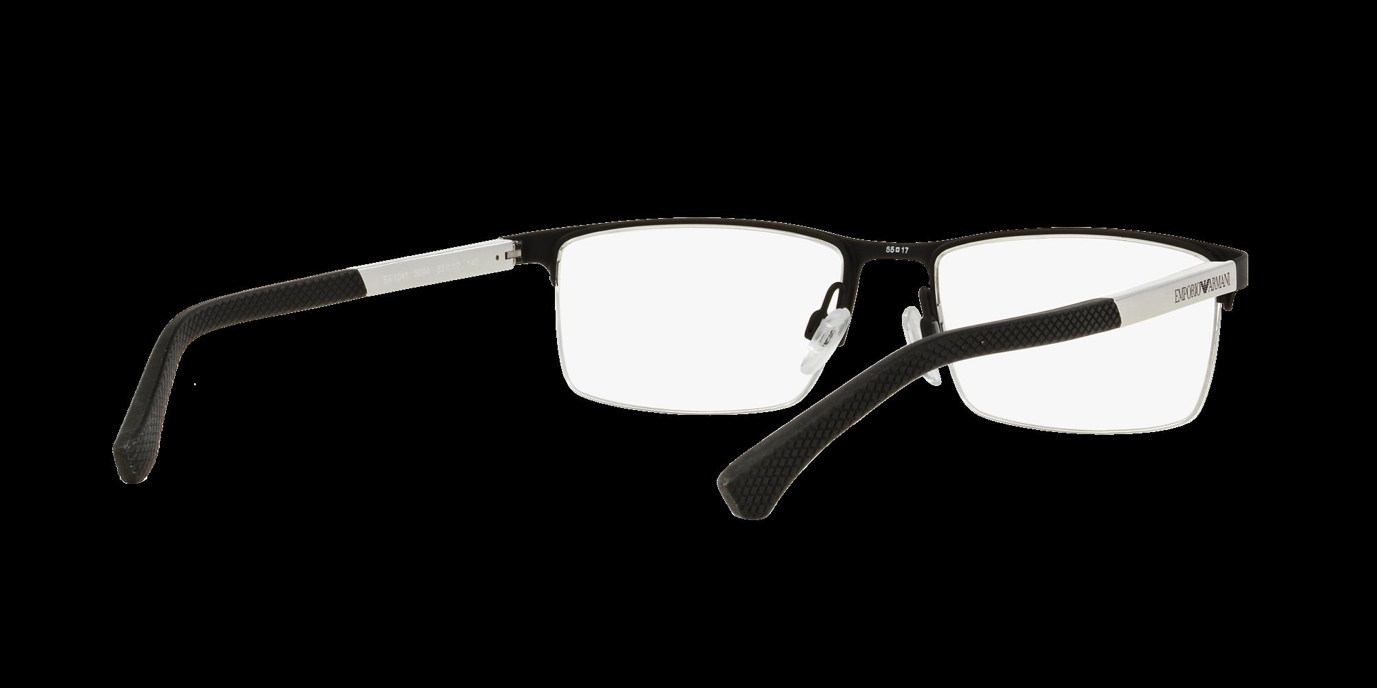 11d6da146ac Eyeglasses Emporio Armani EA1041 3094 55-17 Black Matte Medium