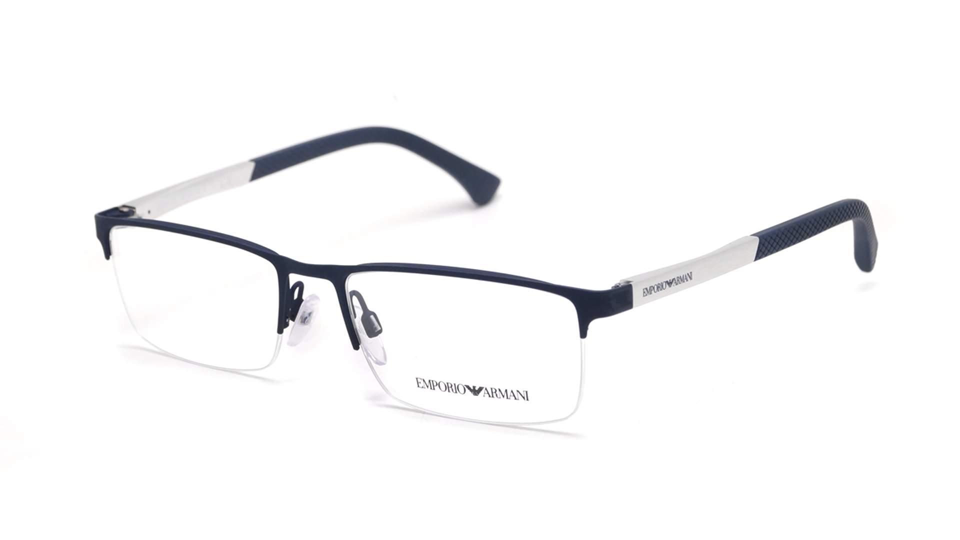 Eyeglasses Emporio Armani EA1041 3131 53-17 Blue Matte Medium 1aad89ef2539