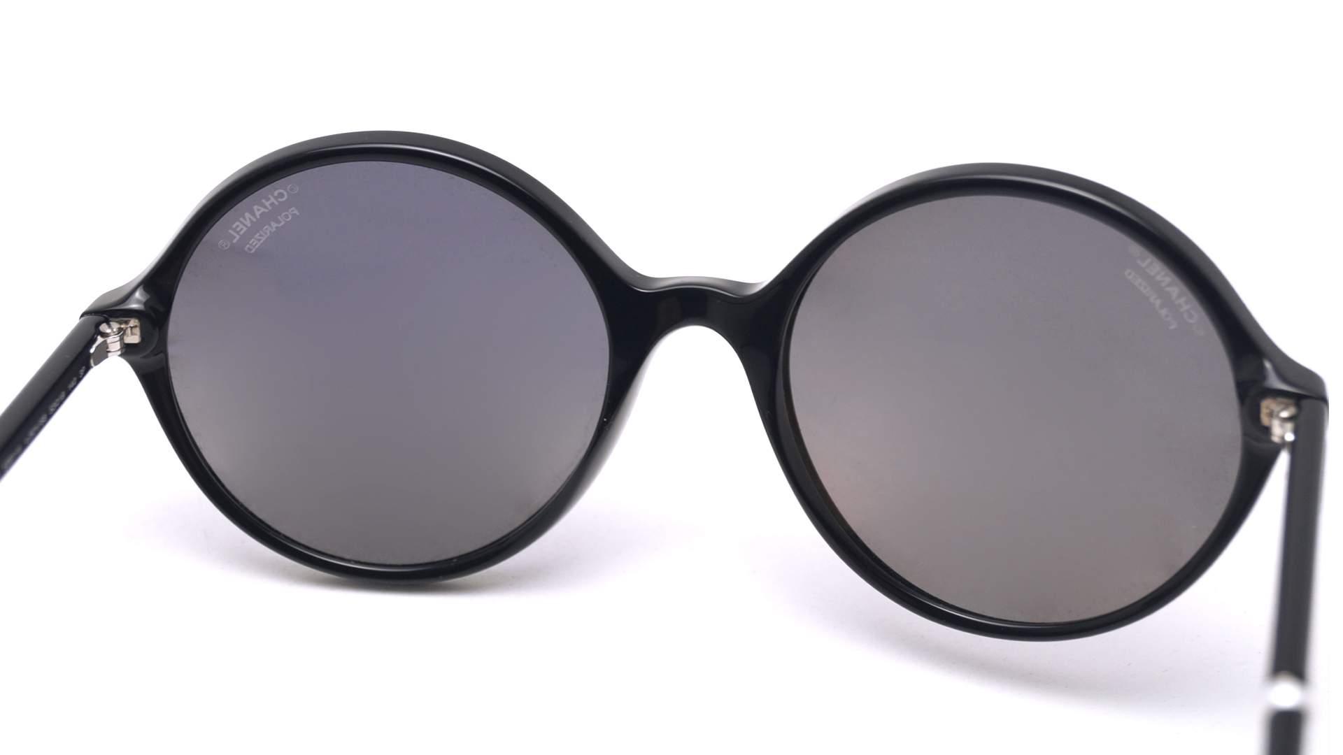 d122f8f281dac4 Lunettes de soleil Chanel CH5391H C501 S8 53-19 Noir Medium Polarisés