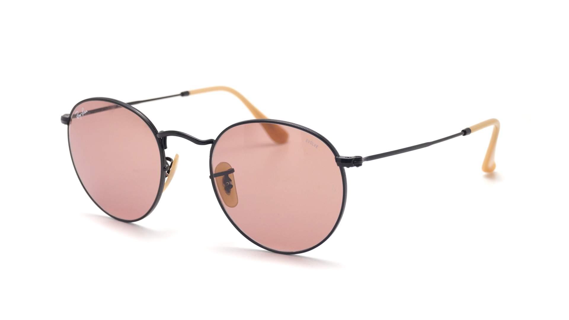 899b61c824 Sunglasses Ray-Ban Round Evolve Black RB3447 9066 Z0 50-21 Medium  Photochromic