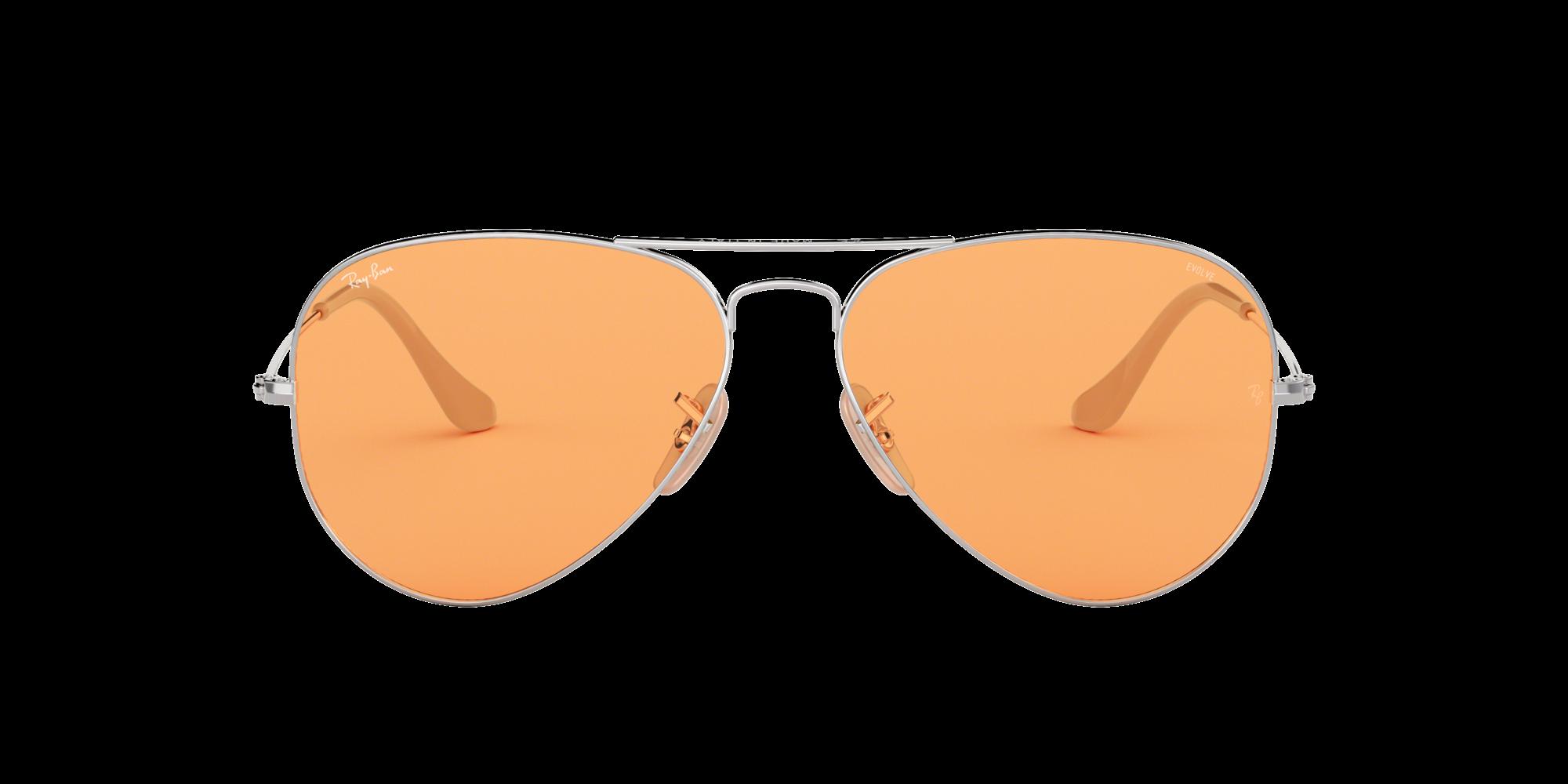 bf2ef46fe3 Sunglasses Ray-Ban Aviator Evolve Silver RB3025 9065 V9 55-14 Small  Photochromic
