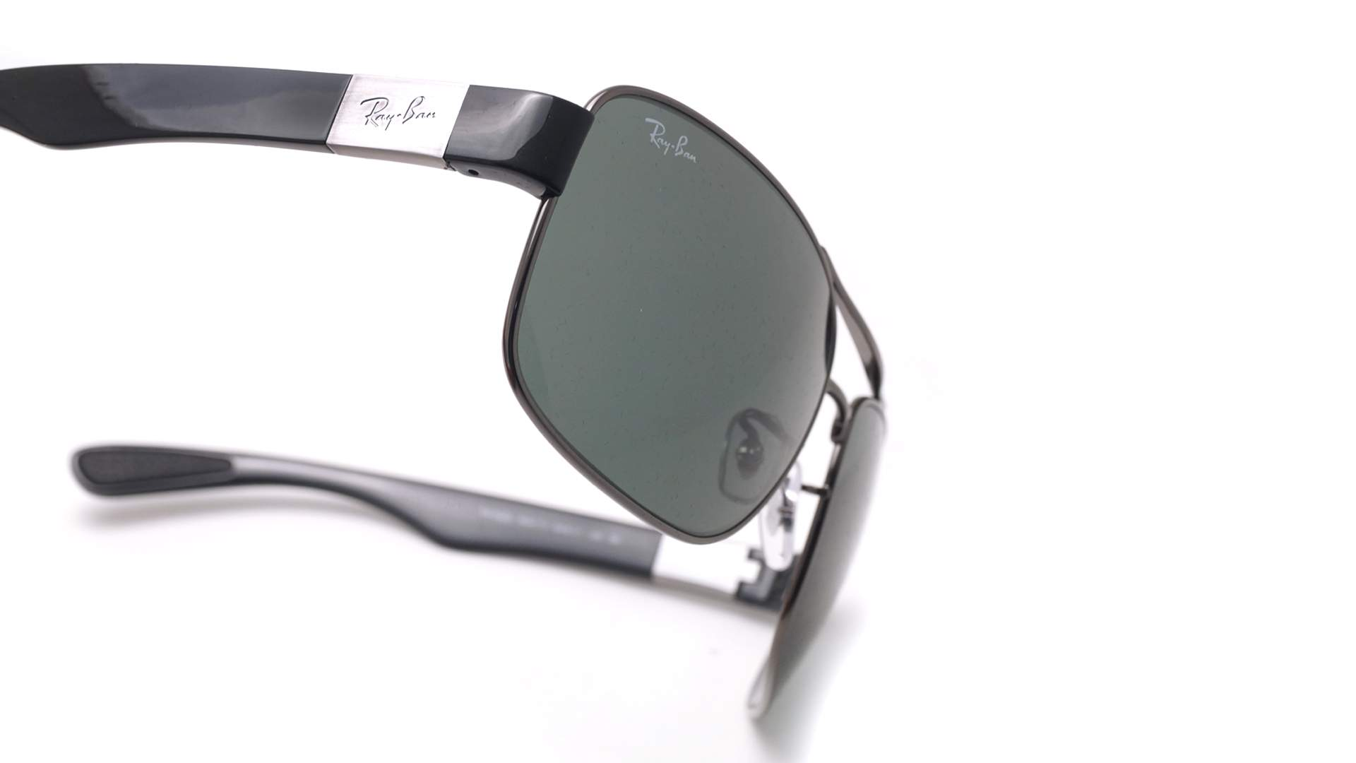 9d176654eb8 Sunglasses Ray-Ban RB3522 004 71 64-17 Silver Large. Medium