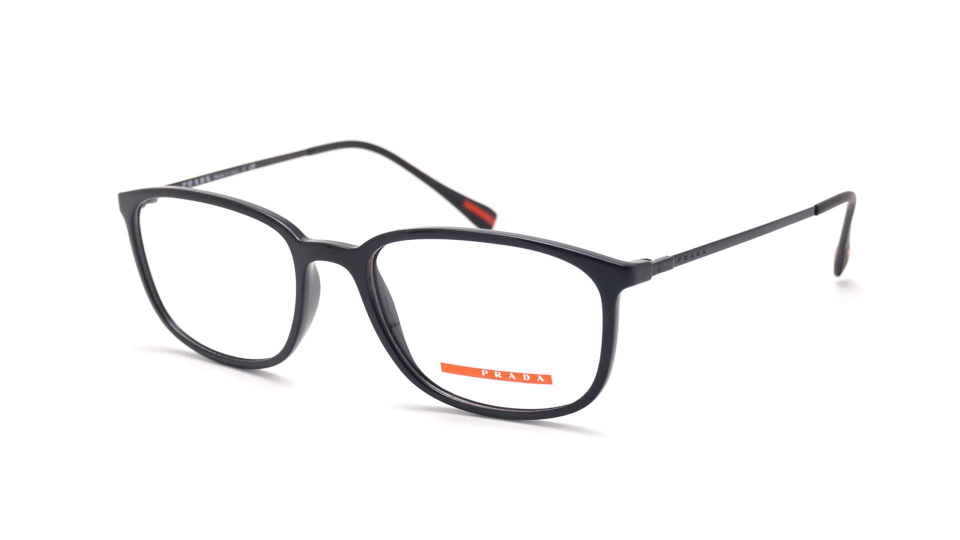 03866e4bff Eyeglasses Prada Linea Rossa PS03HV 1AB-1O1 53-18 Black Medium