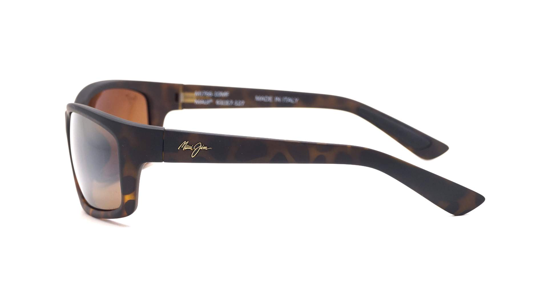 ca568e5f29264 Sunglasses Maui Jim Kanaio coast Tortoise Matte Super thin glass H76610MF  61-17 Large Polarized Gradient Mirror