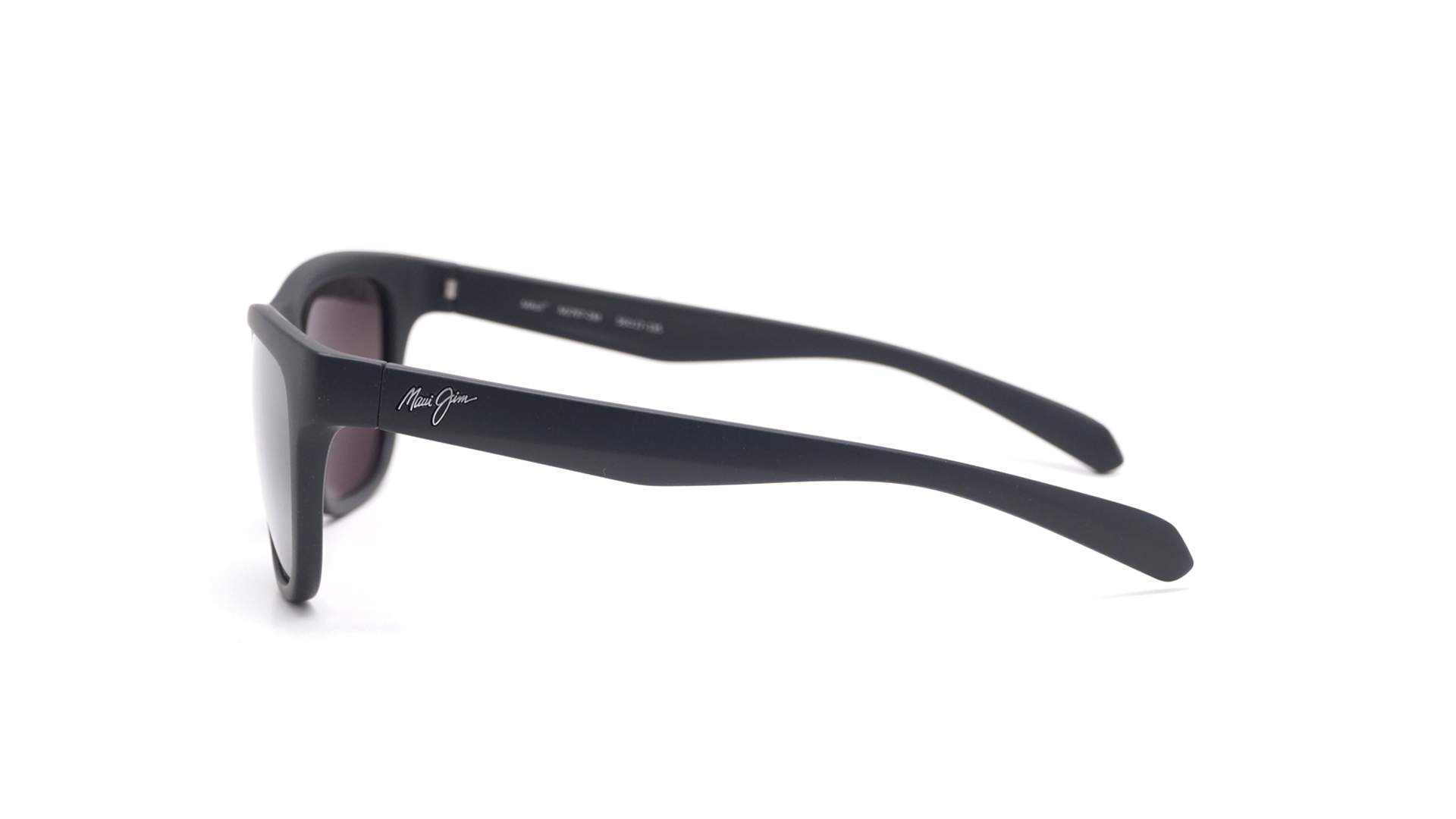 f5d96ffd6c73 Sunglasses Maui Jim Secrets Black Matte Super thin glass 7672M Polarized  Gradient