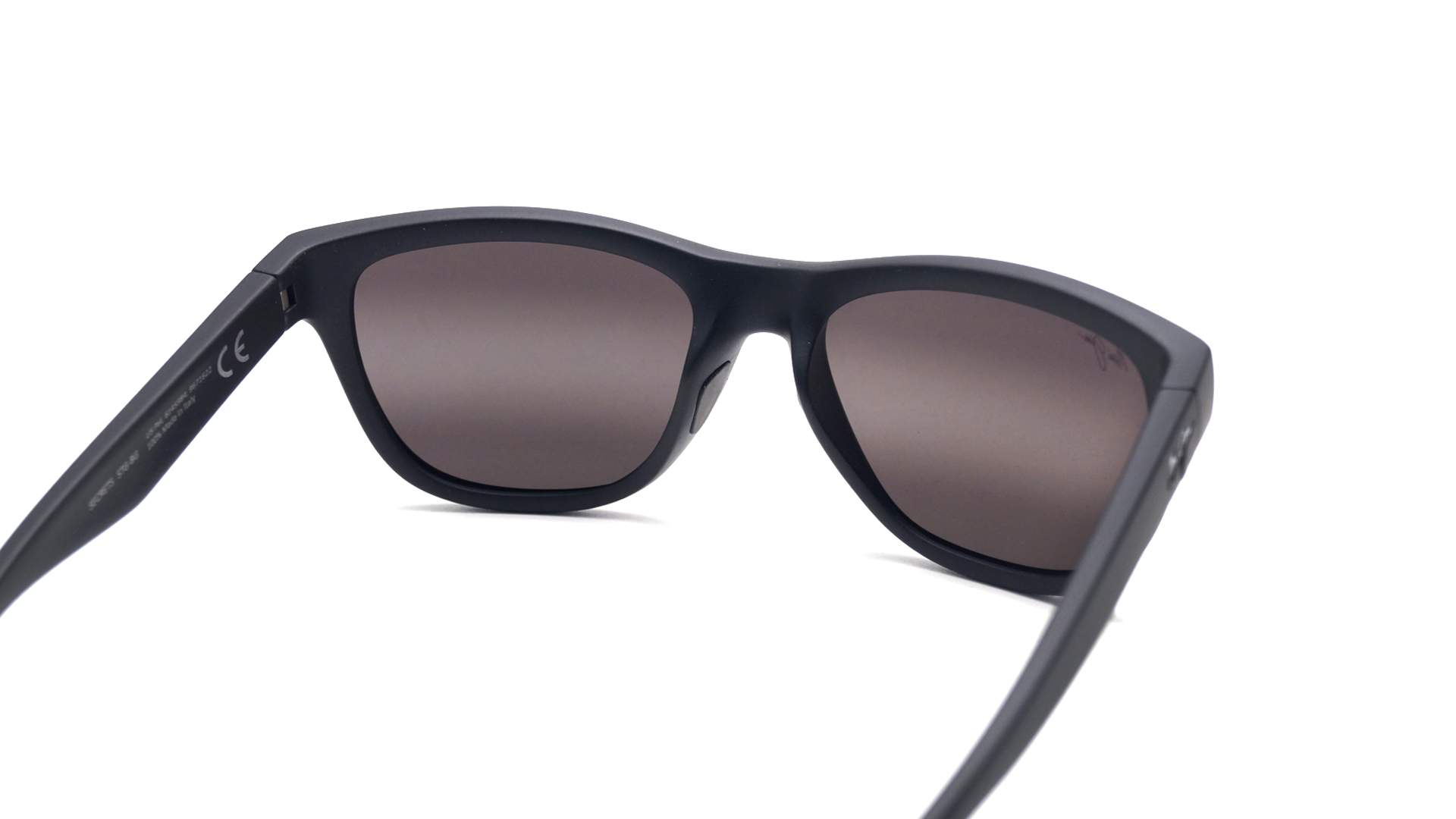 60f845dcc9 Sunglasses Maui Jim Secrets Black Matte Super thin glass 7672M Polarized  Gradient