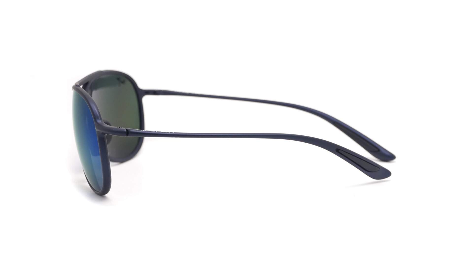 8315be175b Sunglasses Maui Jim Kaupo gap Blue Matte Maui brillant B43703M 61-15 Large  Polarized Gradient Mirror