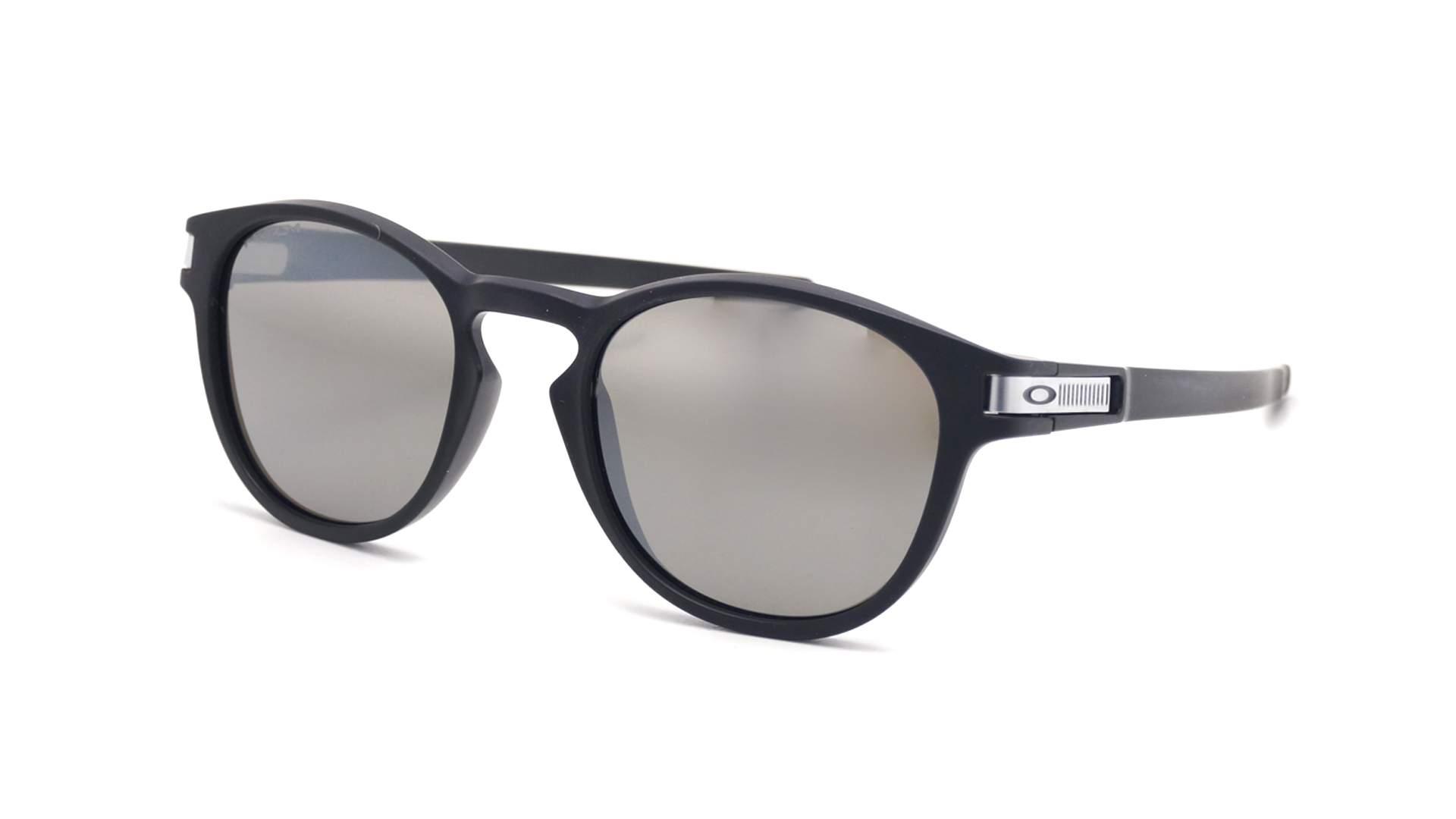 cf5a0c73f76046 Lunettes de soleil Oakley Latch Grid collection Noir Mat OO9265 40 53-21  Medium