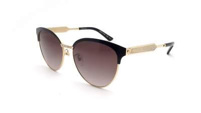 bb0bbccc334 Gucci GG0074S 002 57-16 Black 241