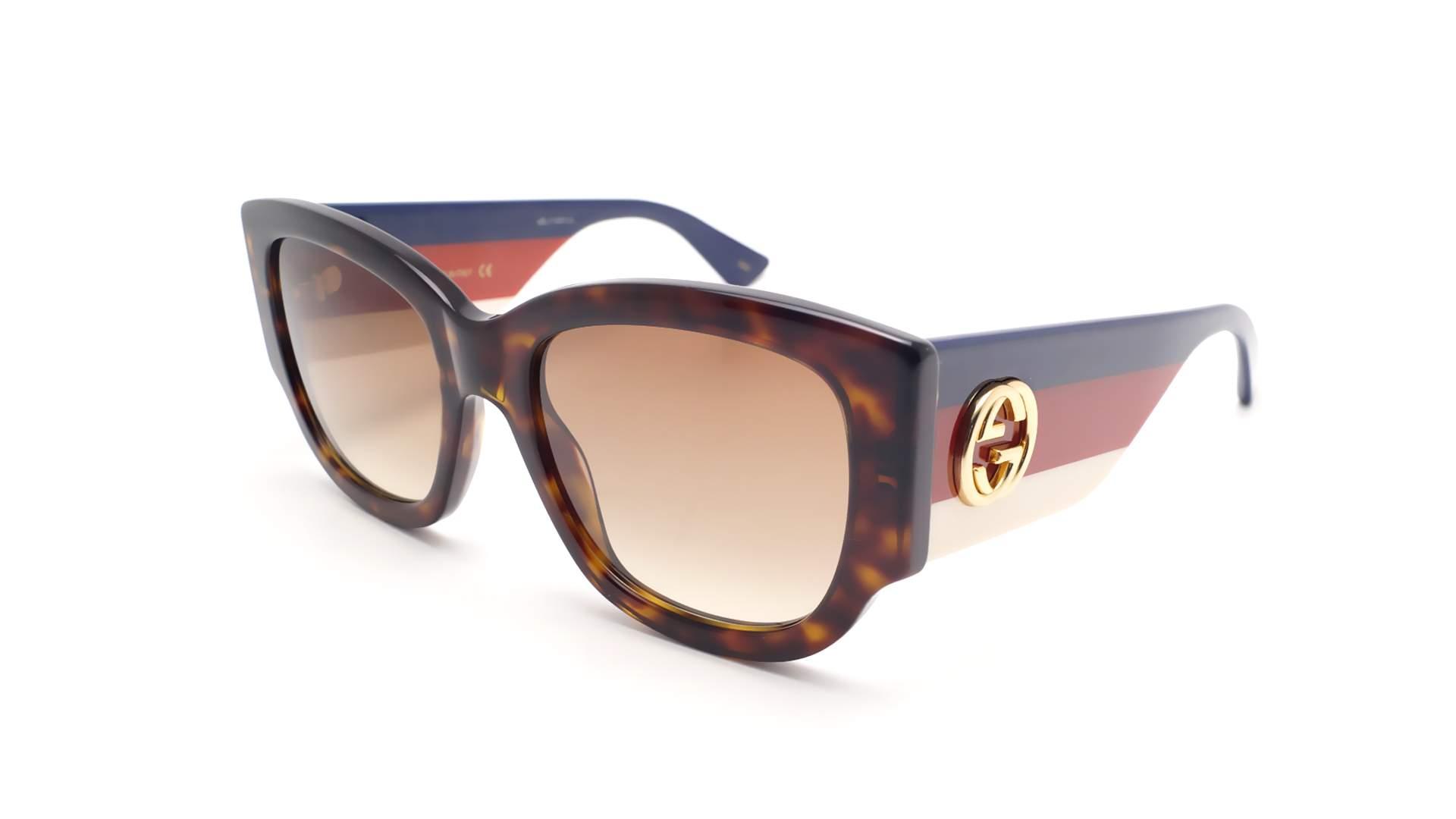 1addf18ce0 Sunglasses Gucci GG0276S 002 53-20 Tortoise Medium