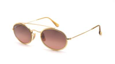 Ray-Ban Oval Double Bridge Gold RB3847N 912443 52-23 95,79 €