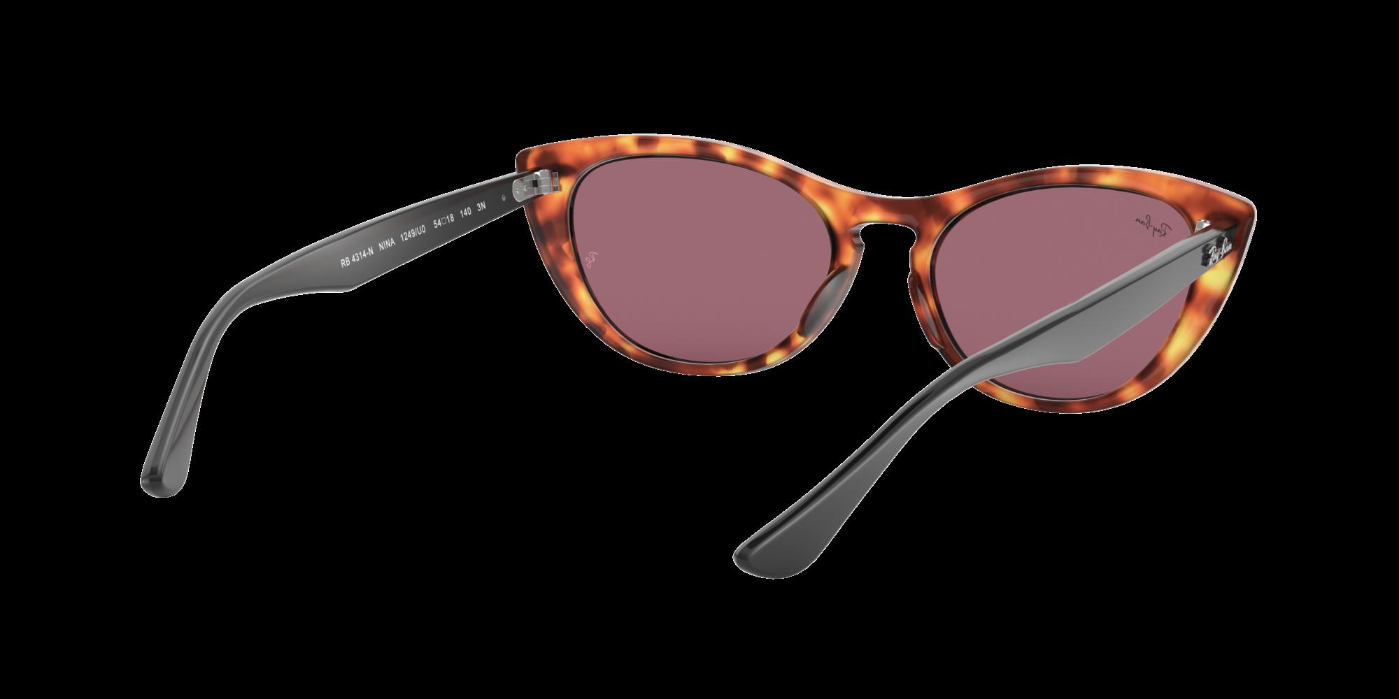 0fce77c5f7 Sonnenbrillen Ray-Ban Nina Havana RB4314N 1249U0 54-18 Mittel Selbsttönende  Gläser