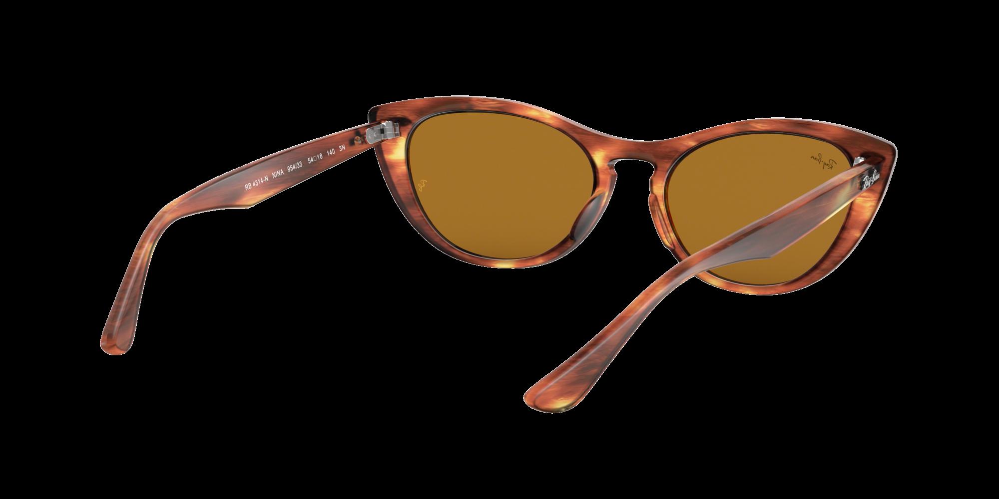 Sunglasses Ray-Ban Nina Tortoise RB4314N 954 33 54-18 Medium 160983802f0