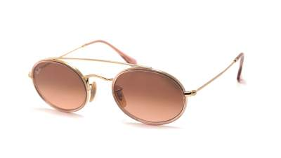 Ray-Ban Oval Double Bridge Gold RB3847N 9125A5 52-23 96,14 €