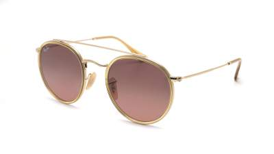 Ray-Ban Round Double Bridge Gold RB3647N 912443 51-22 124,85 €