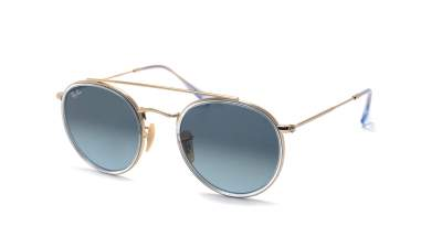Ray-Ban Round Double Bridge Argent RB3647N 91233M 51-22