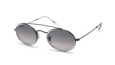 Ray-Ban Oval Double Bridge Grau RB3847N 004/71 52-23 113,99 €