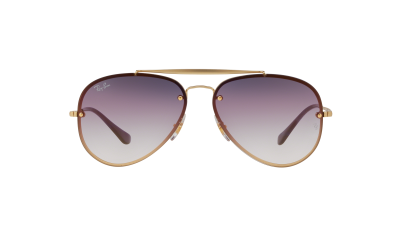 Ray-Ban Aviator Blaze Or Mat RB3584N 91400U 58-13