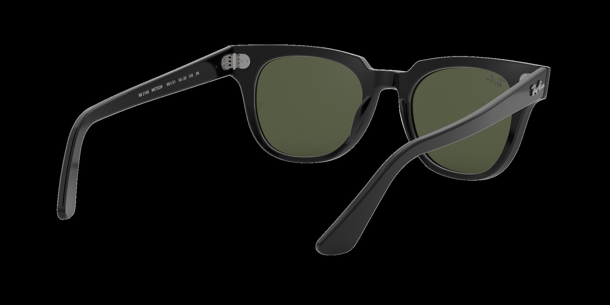 a8cd62aeaf4 Sunglasses Ray-Ban Meteor Black RB2168 901 31 50-20 Medium