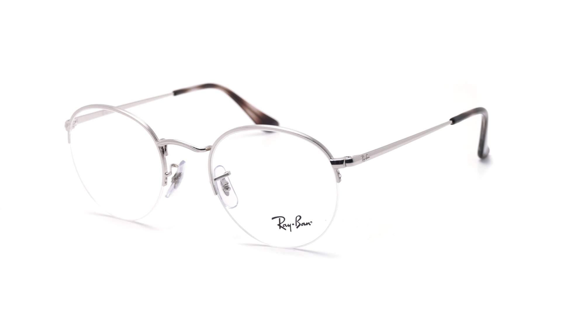 752735f1407 Eyeglasses Ray-Ban Gaze Silver RX3947 RB3947V 2501 48-22 Small