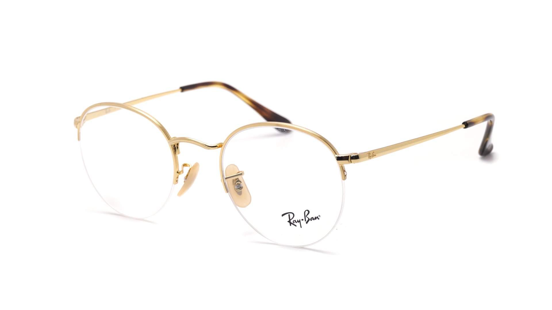 8bb85fcdac2 Eyeglasses Ray-Ban Gaze Gold RX3947 RB3947V 2500 48-22 Small