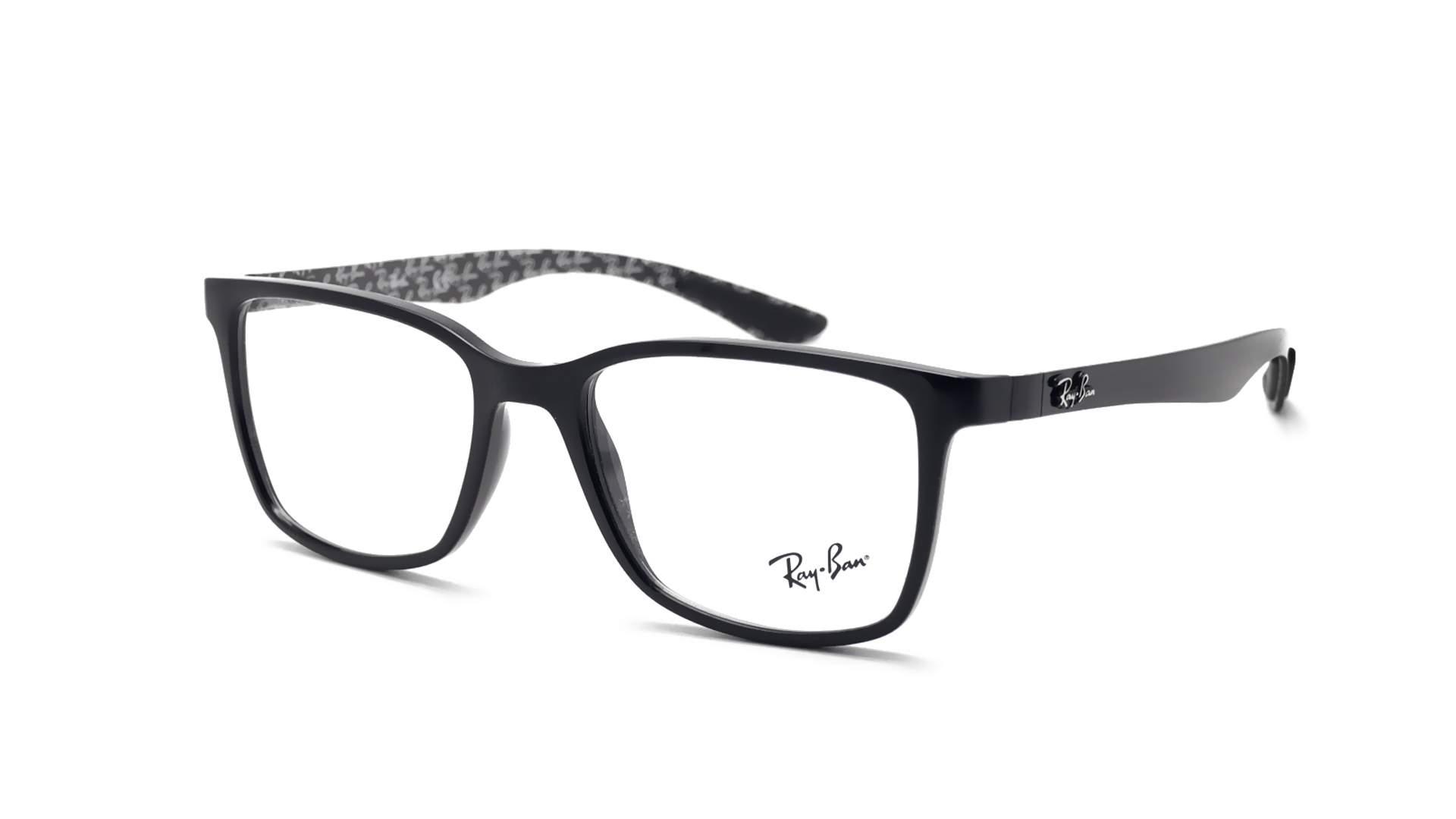 dfd1d81b31d96 Eyeglasses Ray-Ban Carbon fibre Black RX8905 RB8905 5843 53-18 Medium