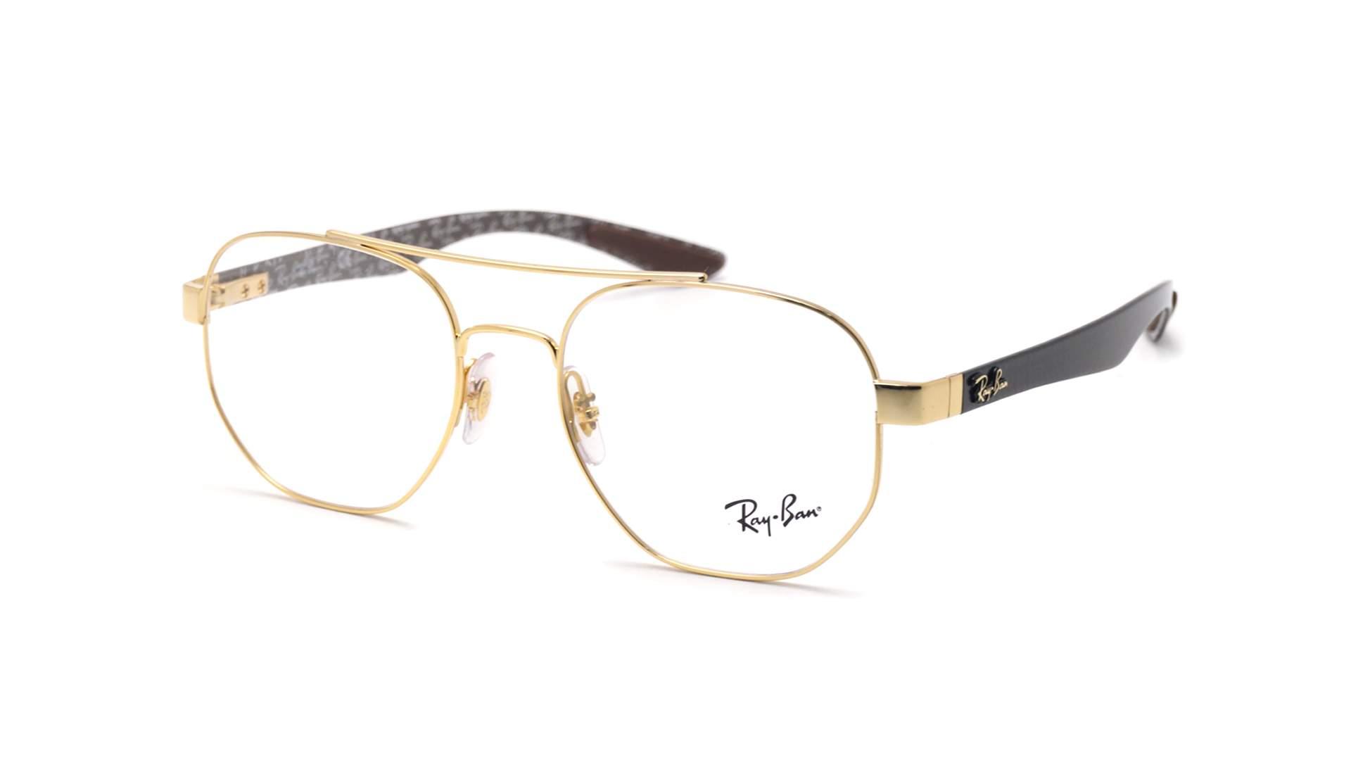 2beb9bedd9 Eyeglasses Ray-Ban Carbon fibre Gold RX8418 RB8418 2500 51-18 Medium