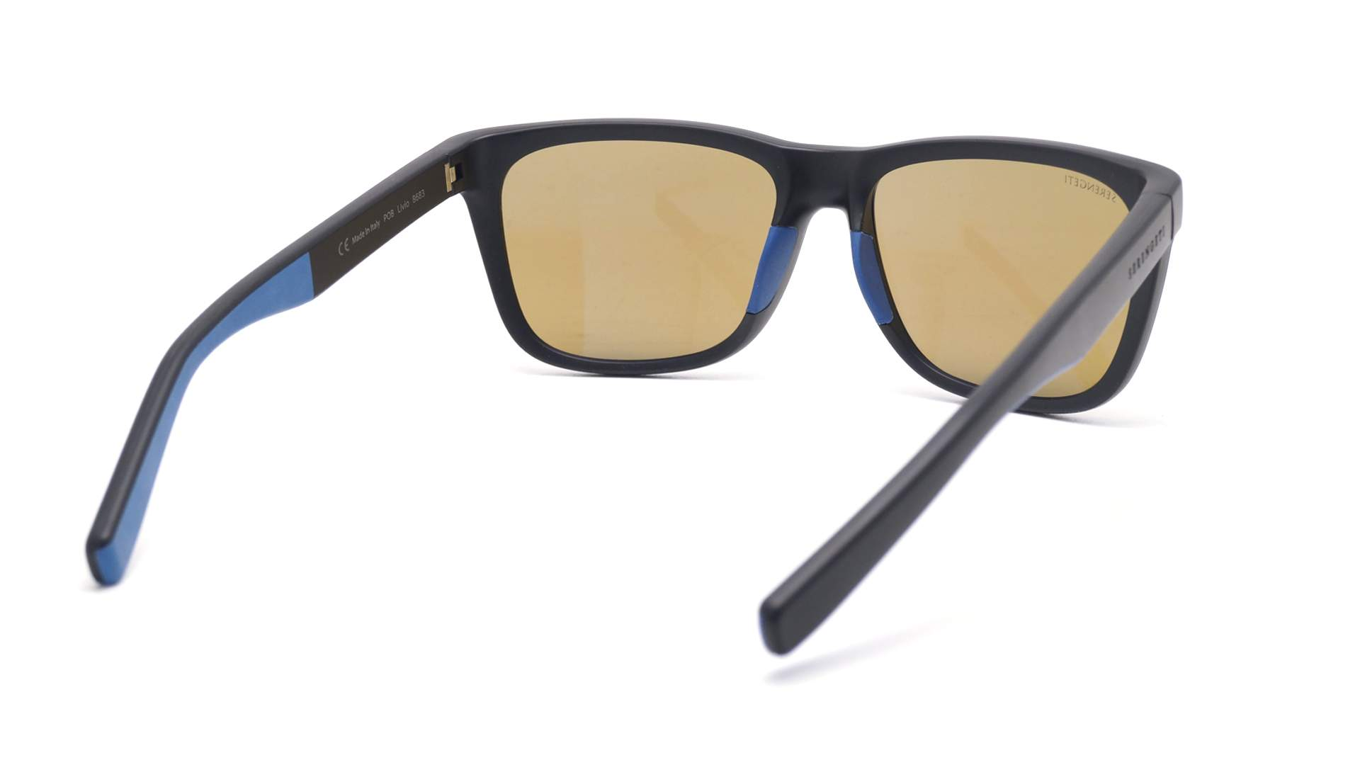 3cc6fe2f6ecf Sunglasses Serengeti Livio Black Matte 8683 57-15 Large Polarized  Photochromic Mirror