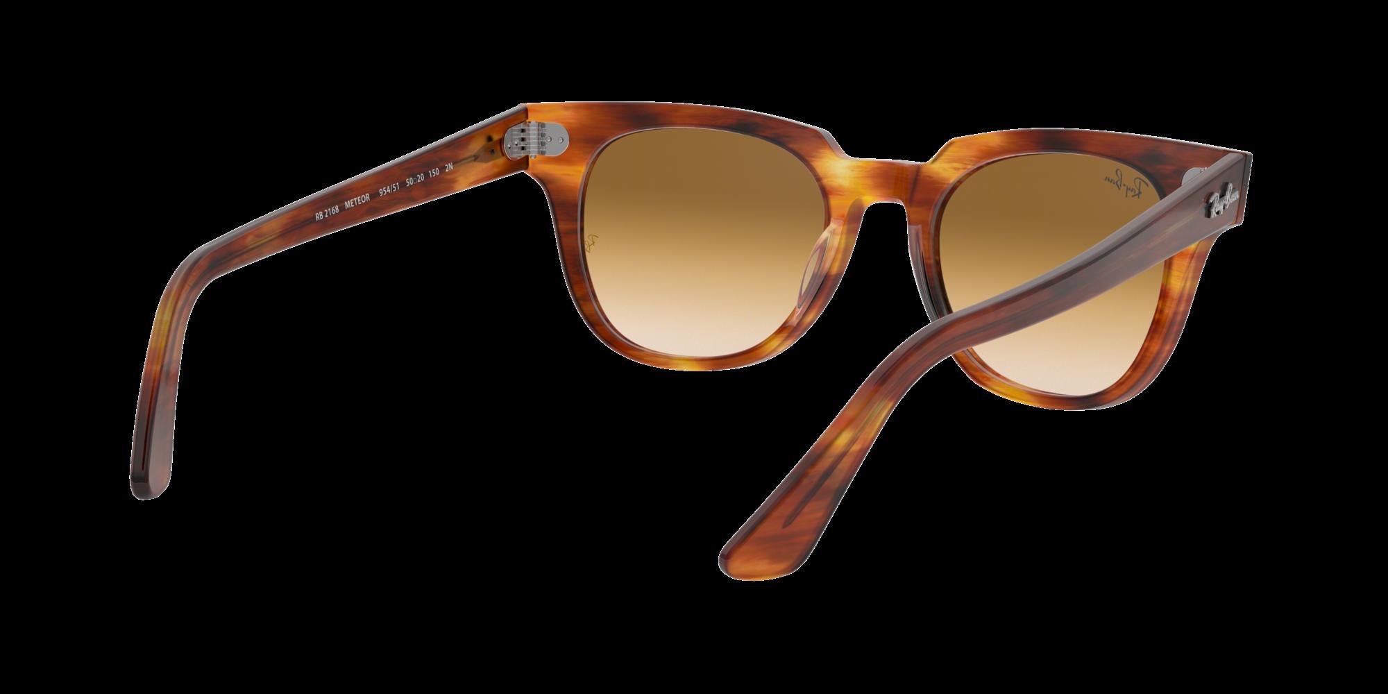 bcb2ffcbf3 Sunglasses Ray-Ban Meteor Tortoise RB2168 954 51 50-20 Medium Gradient