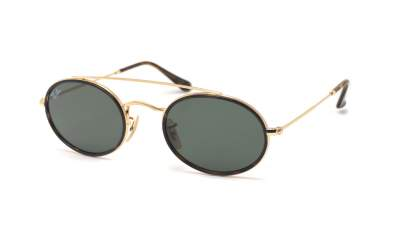 0160c0a2e4 Ray-Ban Oval Double Bridge Gold RB3847N 9121 31 52-23 99