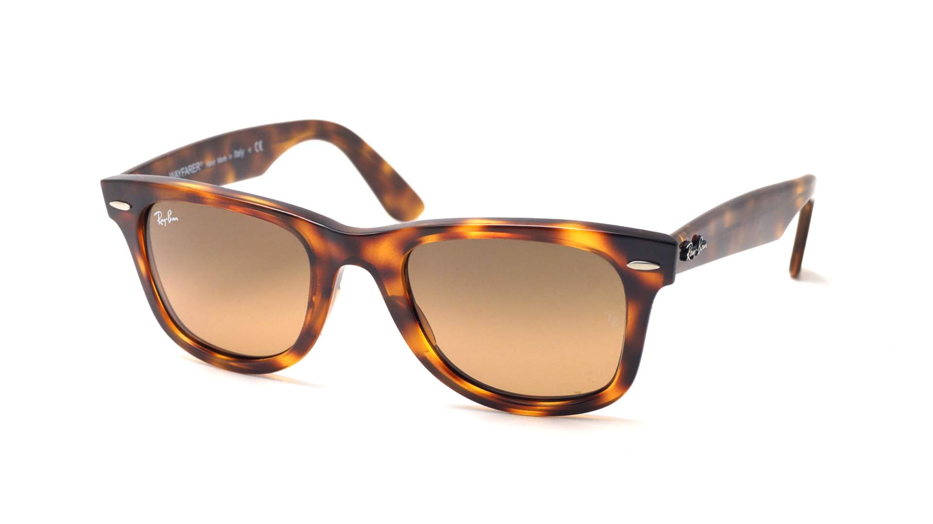 f65d66b492 Sunglasses Ray-Ban Wayfarer Ease Tortoise RB4340 6397 43 50-22 Medium  Gradient