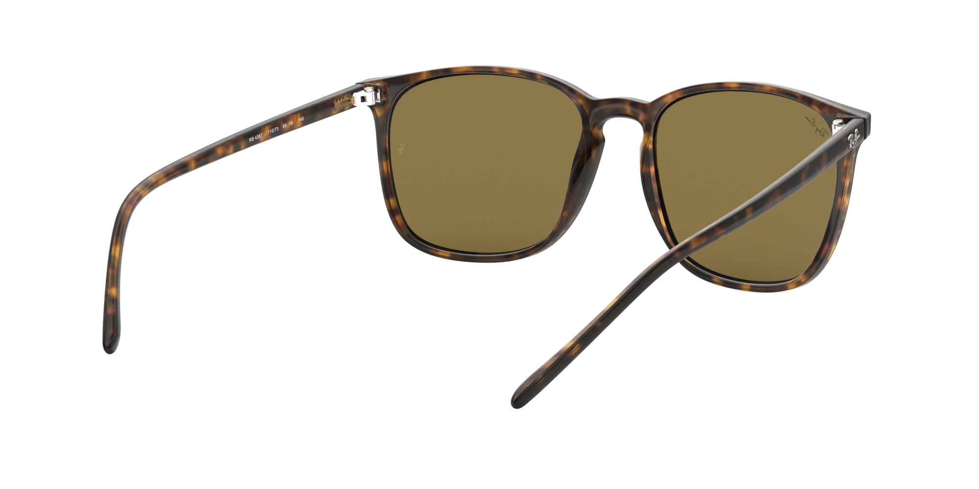4c6338dba5c91 Sunglasses Ray-Ban RB4387 710 73 56-18 Tortoise Large