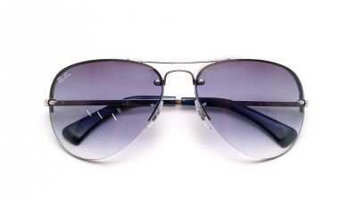 Ray-Ban RB3449 9129/0S 59-14 Argent