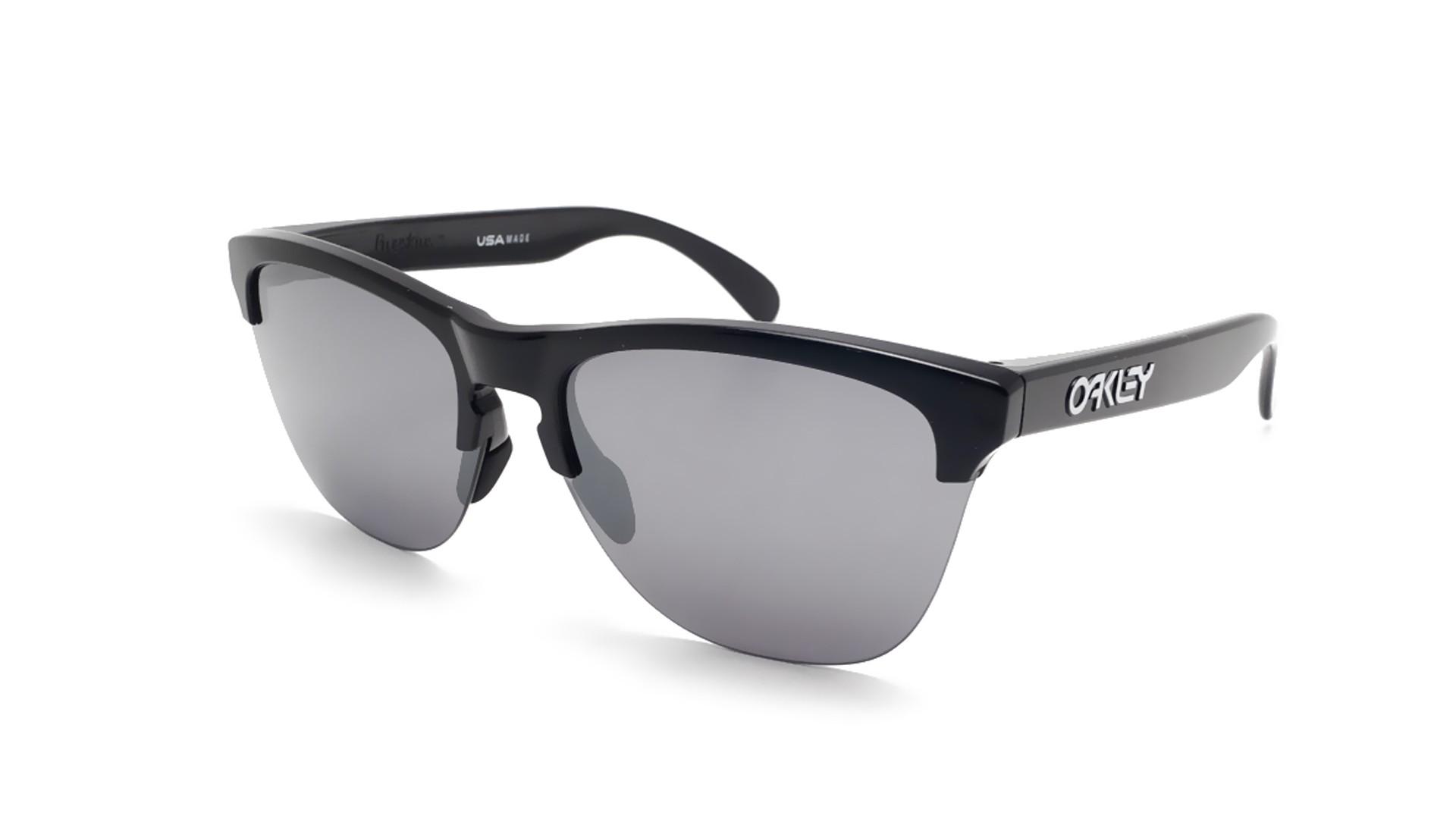 387b400c90 Sunglasses Oakley Frogskins Lite Black Prizm OO9374 10 63-10 Large Flash
