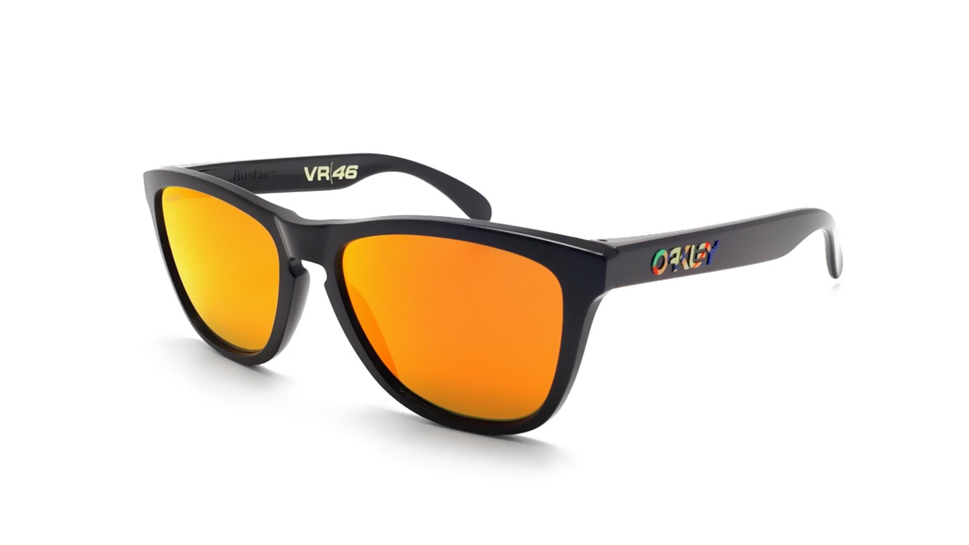 Sunglasses Oakley Frogskins Valentino Rossi Vr46 Black Prizm OO9013 E6  55-17 Medium Flash a155838d08e7