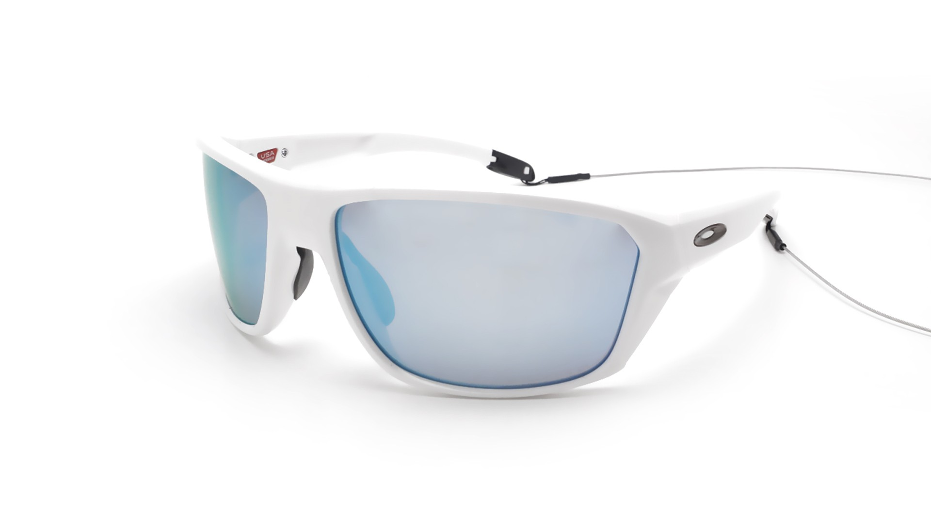5d0c117b07a Sunglasses Oakley Split Shot White Prizm deep water OO9416 07 64-17 Large  Polarized Flash