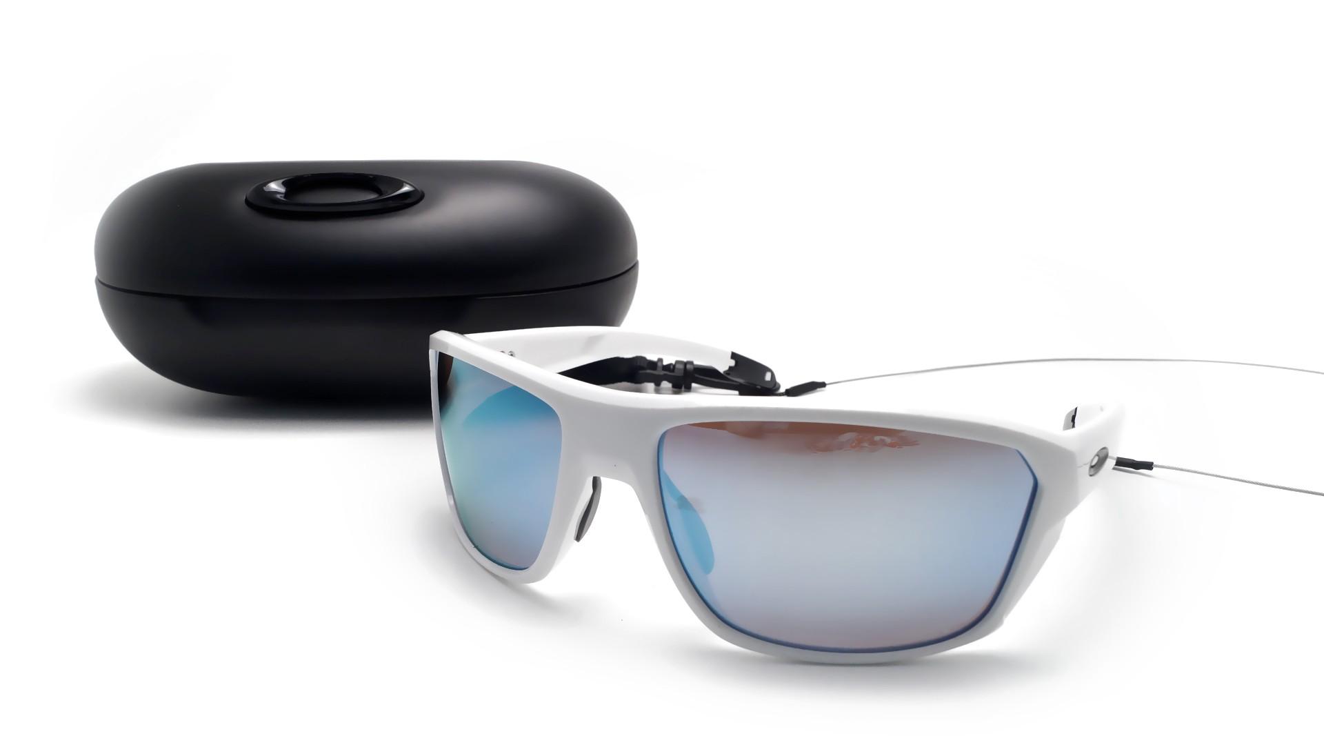 25e2b5a28b Sunglasses Oakley Split Shot White Prizm deep water OO9416 07 64-17 Large  Polarized Flash