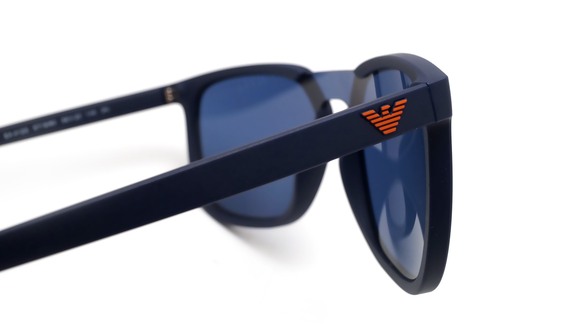 3ac3d983bf942 Sunglasses Emporio Armani EA4123 571980 58-17 Blue Mat Large Flash