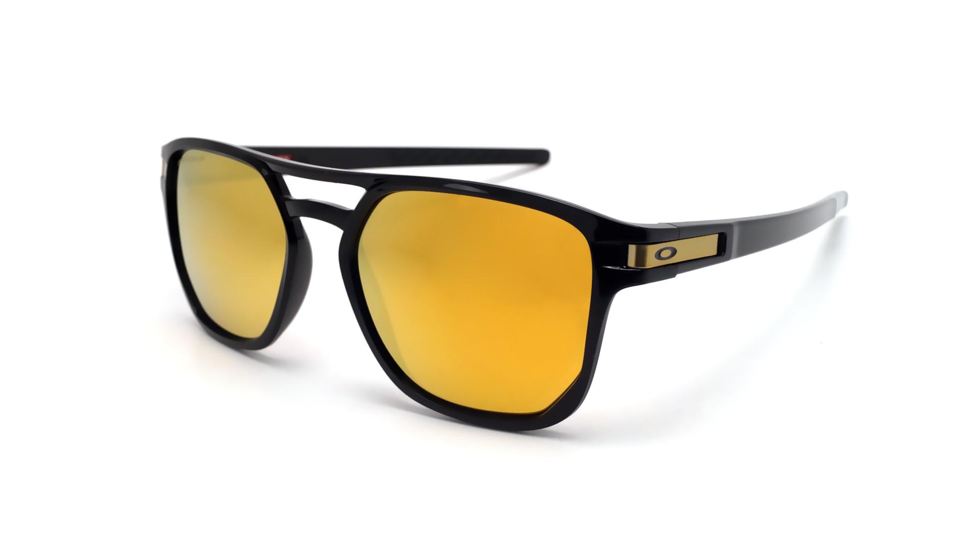 2a881e36f0 Sunglasses Oakley Latch Beta Black Prizm OO9436 04 54-18 Medium Polarized  Flash