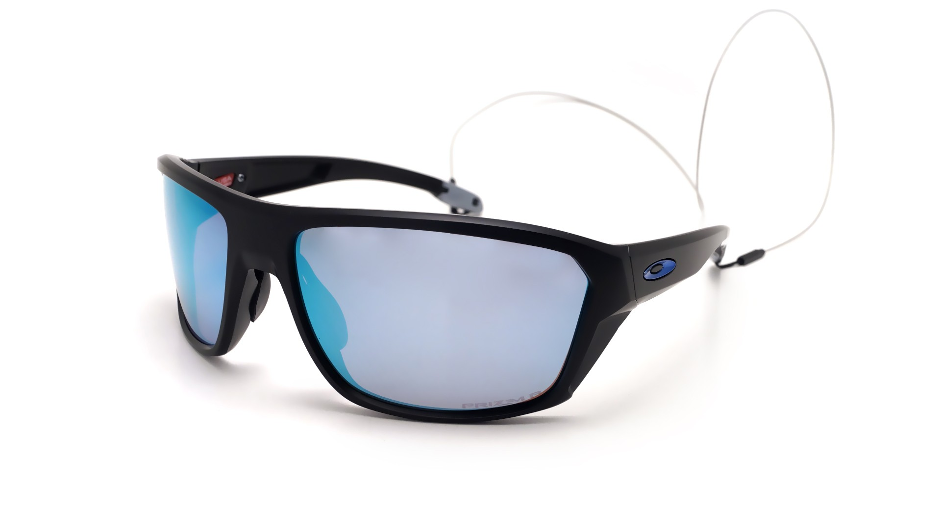 521ac625f12cc Sunglasses Oakley Split Shot Black Prizm deep water OO9416 06 64-17 Large  Polarized Flash