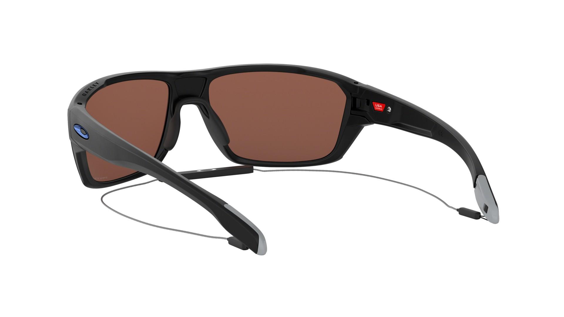 7ab5ba8964 Sunglasses Oakley Split Shot Black Prizm deep water OO9416 06 64-17 Large  Polarized Flash