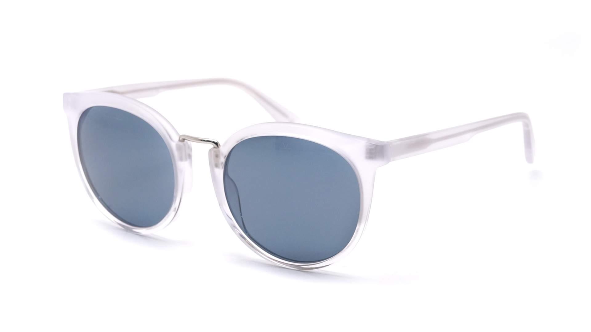 2efaed34382 Sunglasses vuarnet cable car cat eye clear matte blue polar small polarized  jpg 1920x1080 Vuarnet cat