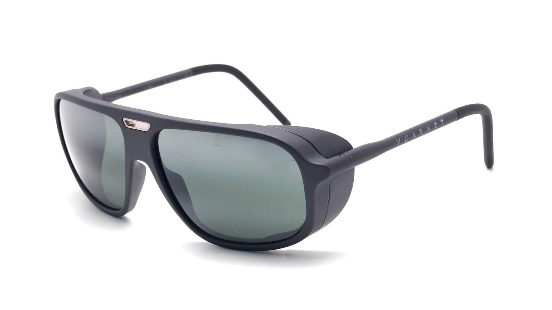 3dbfd4e727e Sunglasses Vuarnet Ice Grey Matte Greylynx VL1811 0004 60-15 Large Gradient  Mirror