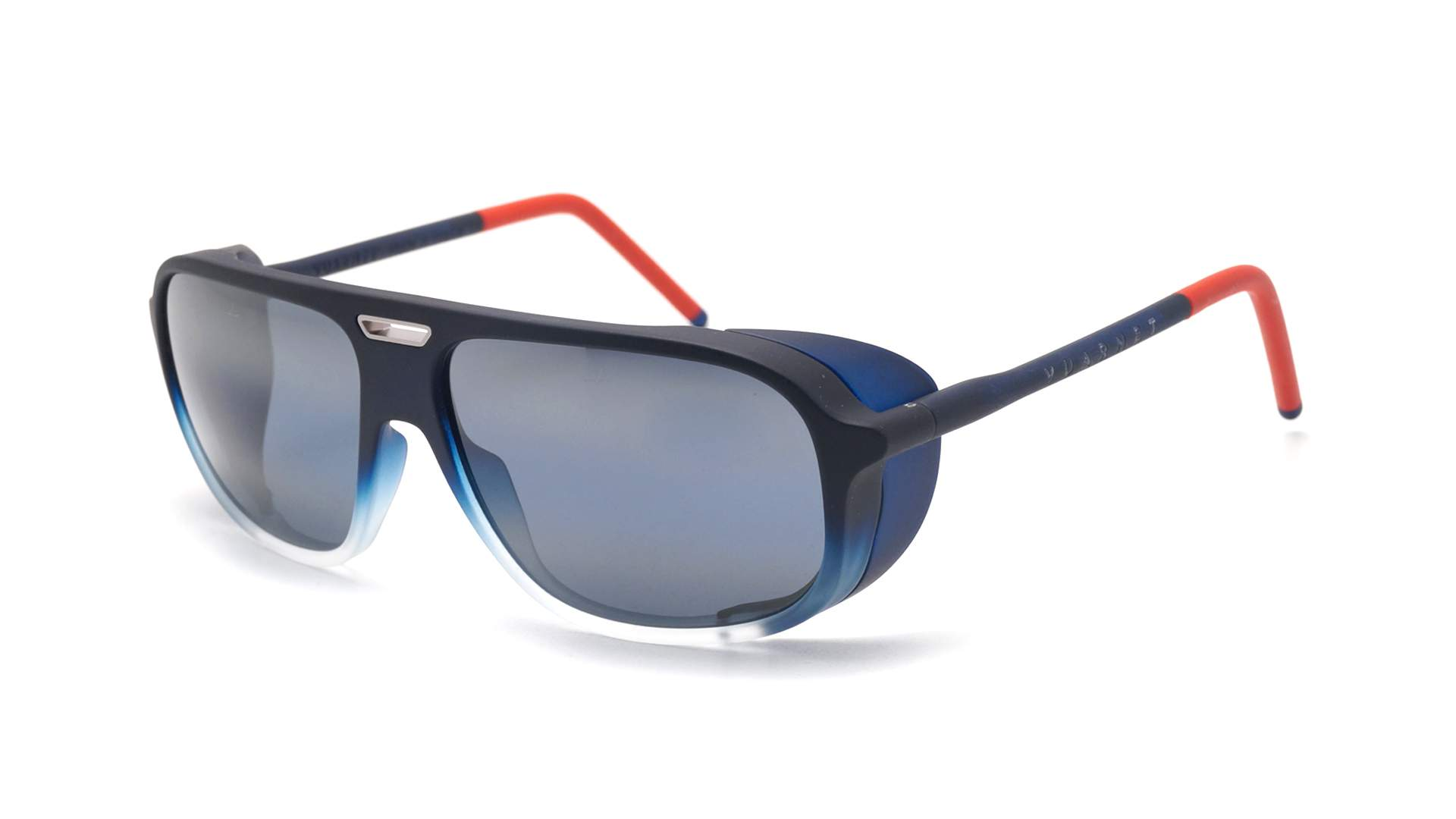 9cc777ae0a6 Sunglasses Vuarnet Ice Multicolor Matte Blue polarlynx VL1811 0005 60-15  Large Polarized Gradient Mirror