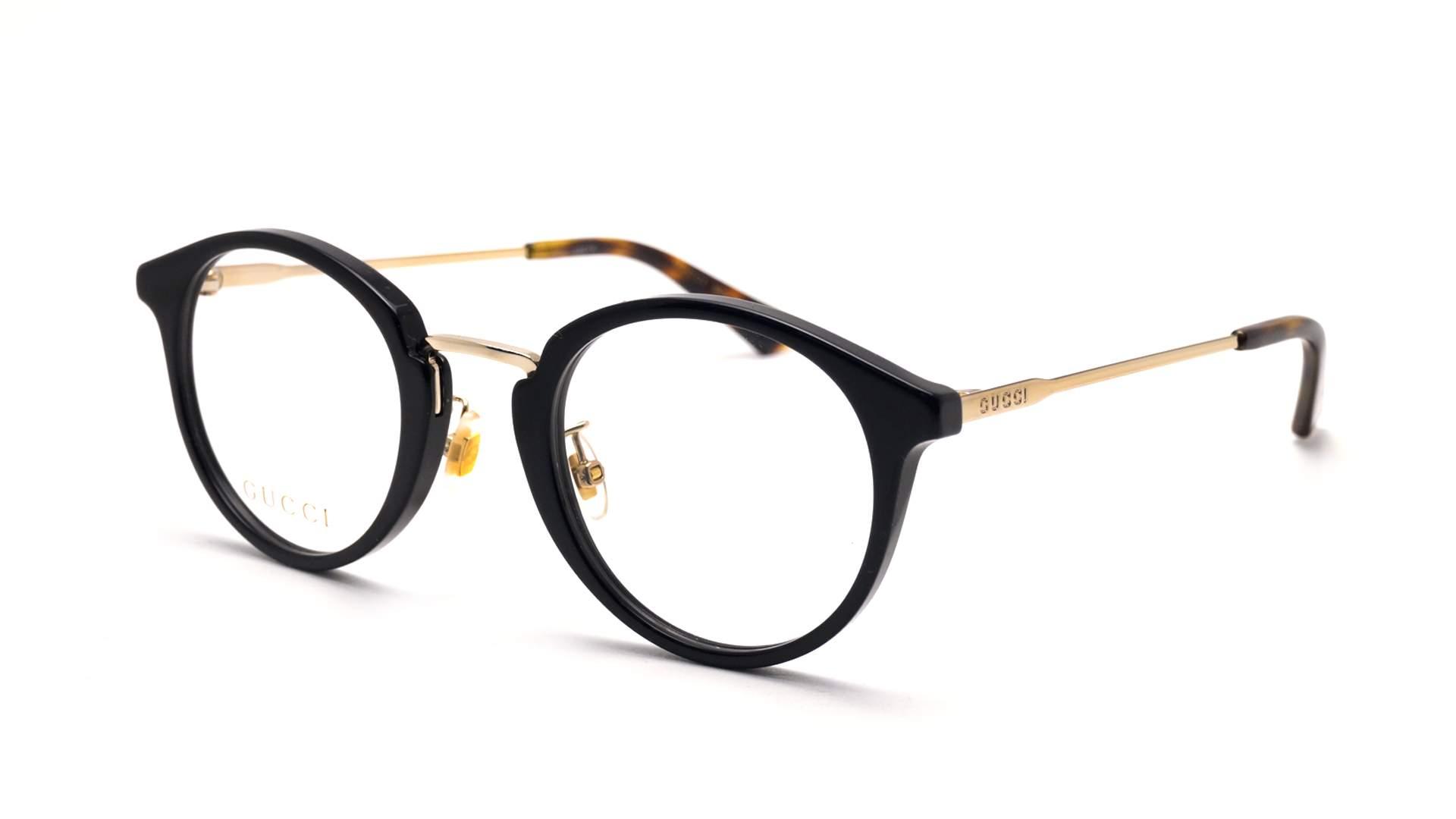 3f3b43f14fb Eyeglasses Gucci GG0322O 001 49-25 Black Medium