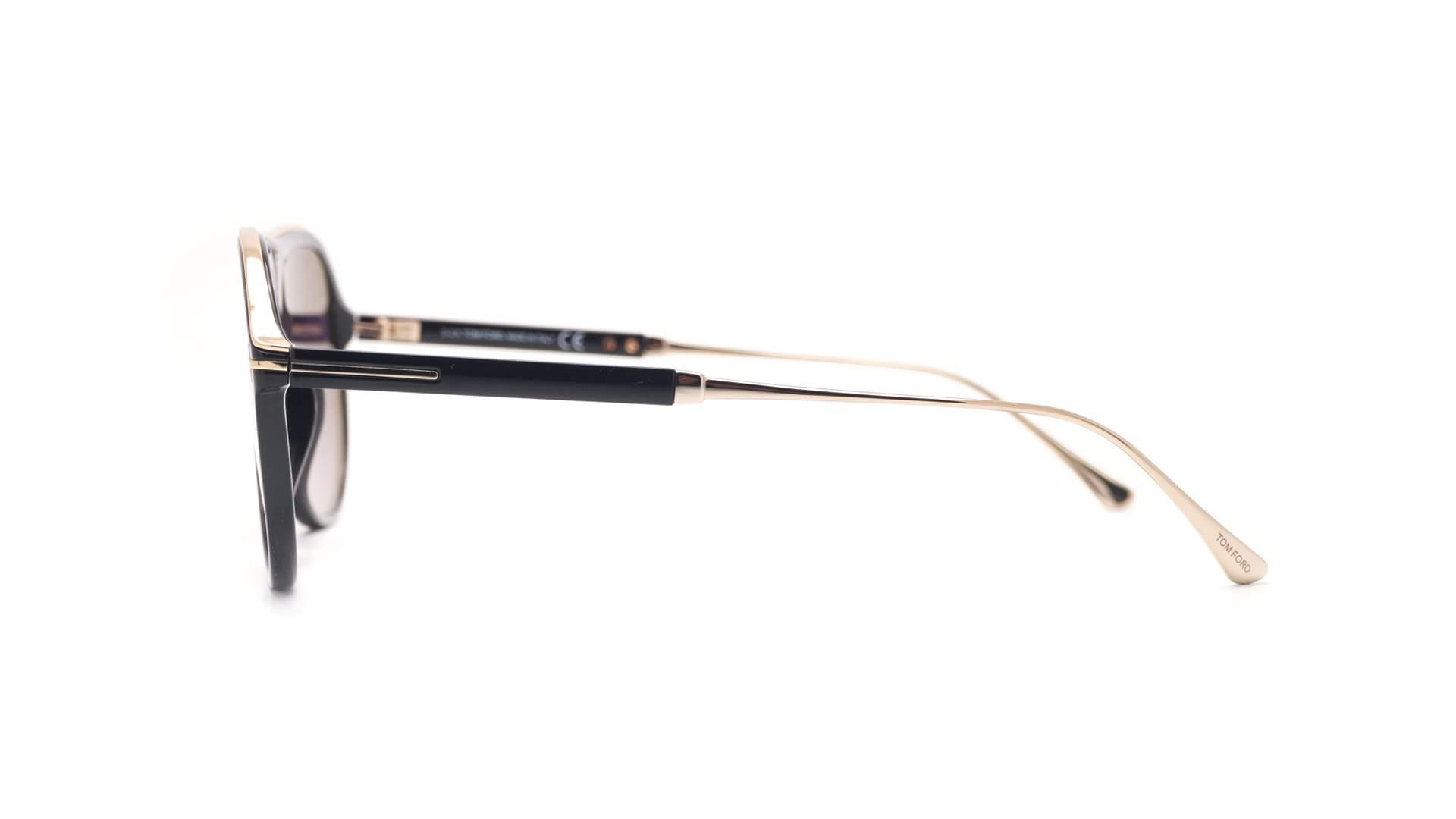Sunglasses Tom Ford Nicholai-02 Black FT0624S 01C 57-14 Medium Gradient 052bb2b79f7c