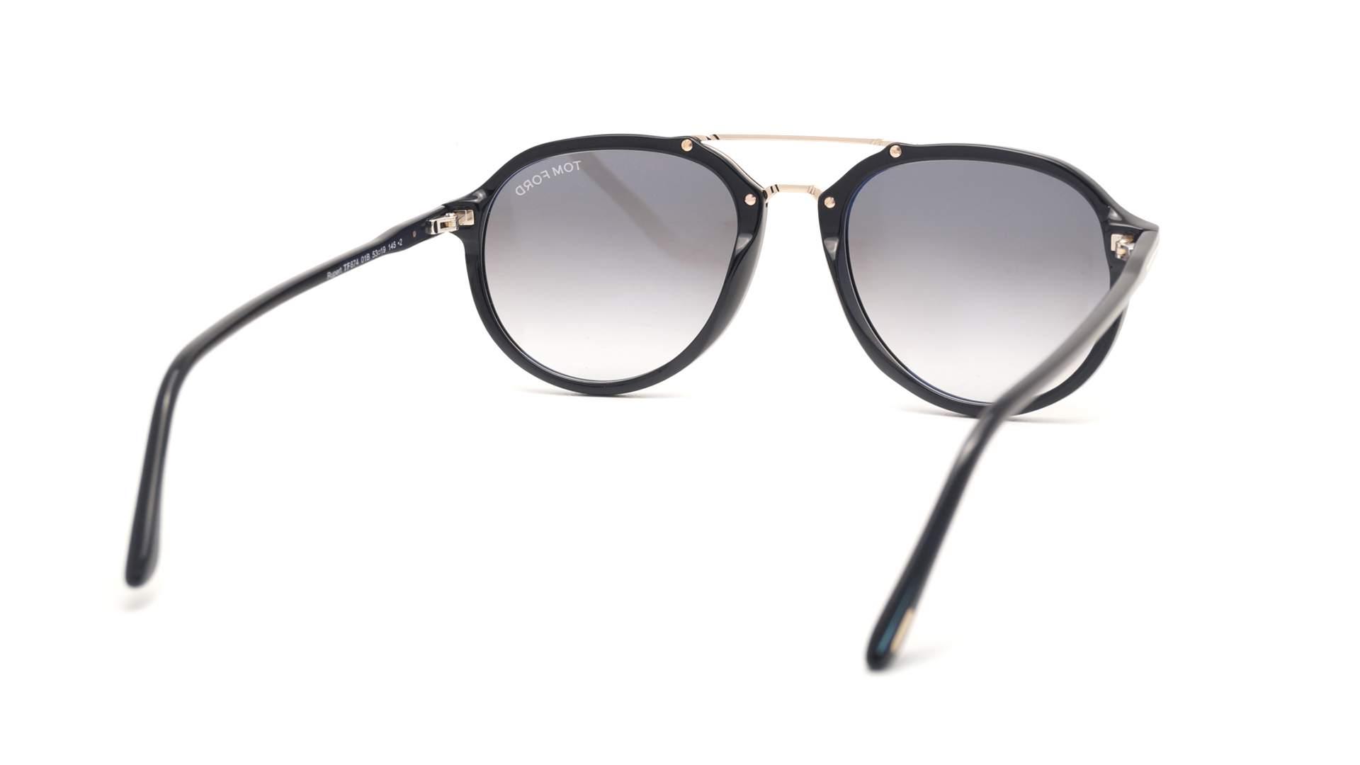 e1cedbaed68 Sunglasses Tom Ford FT0674S 01B 55-19 Black Large Gradient