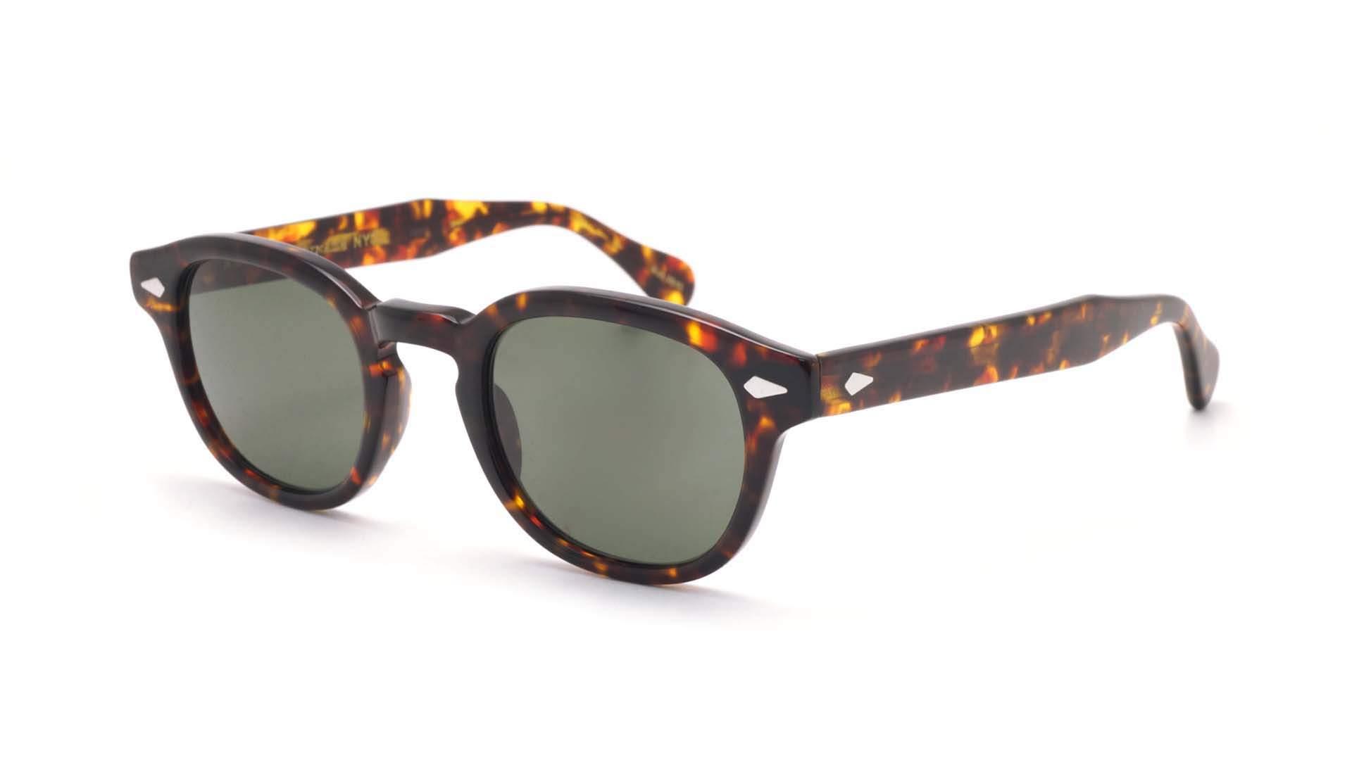 01543fd508c Sunglasses Moscot Lemtosh Tortoise G15 LEM 2002-46-AC-SUN-02 46-24 Small