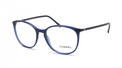 Chanel Signature Blau CH3282 C503 54-18 Large